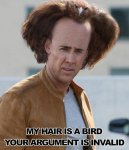 My Hair is a Bird. Your argument is invalid..jpg
